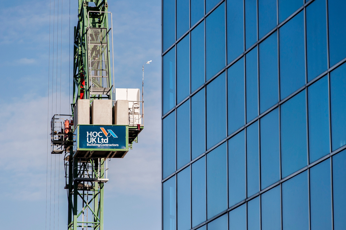 Construction photography in london